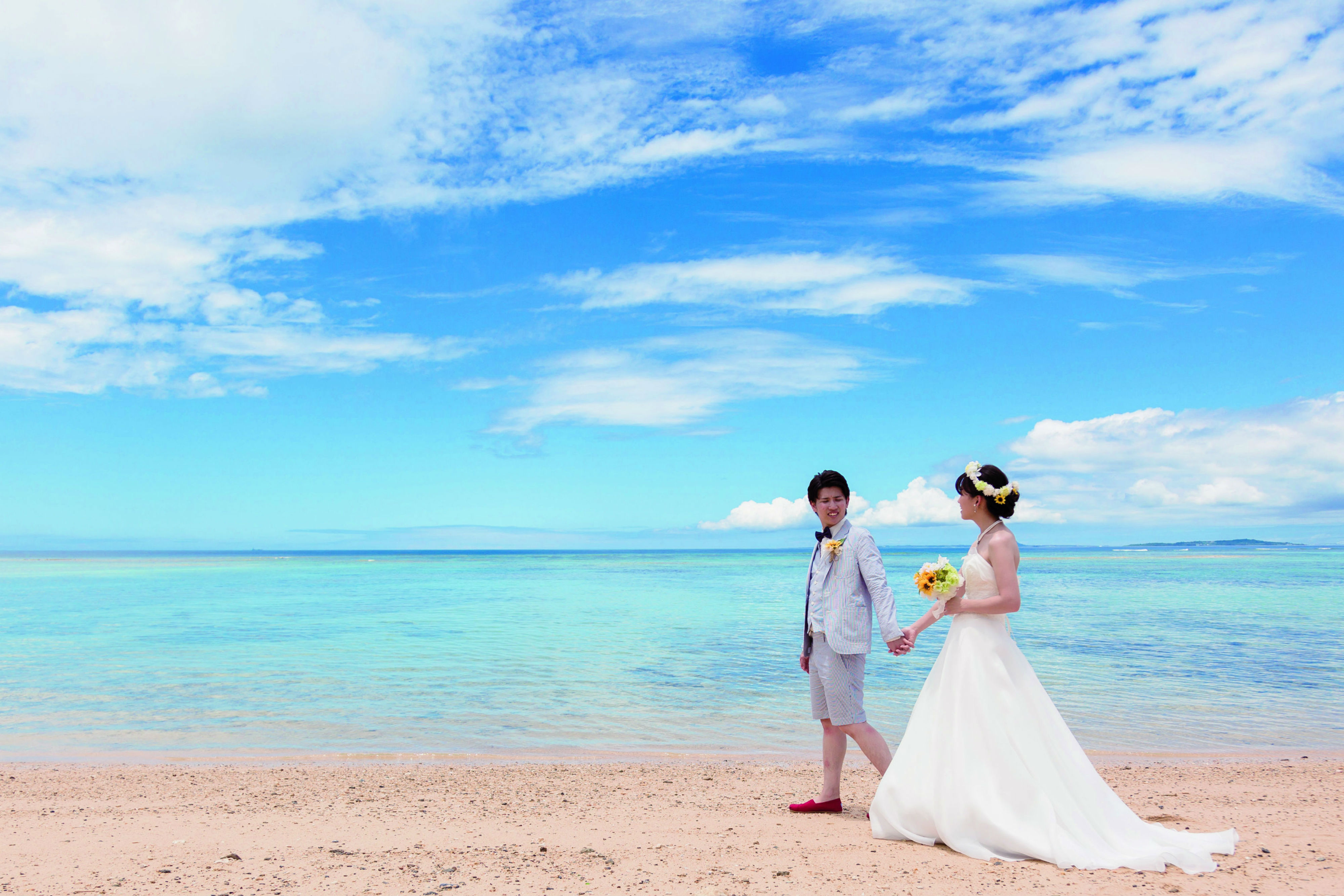 沖縄フォトウェディング最大の魅力