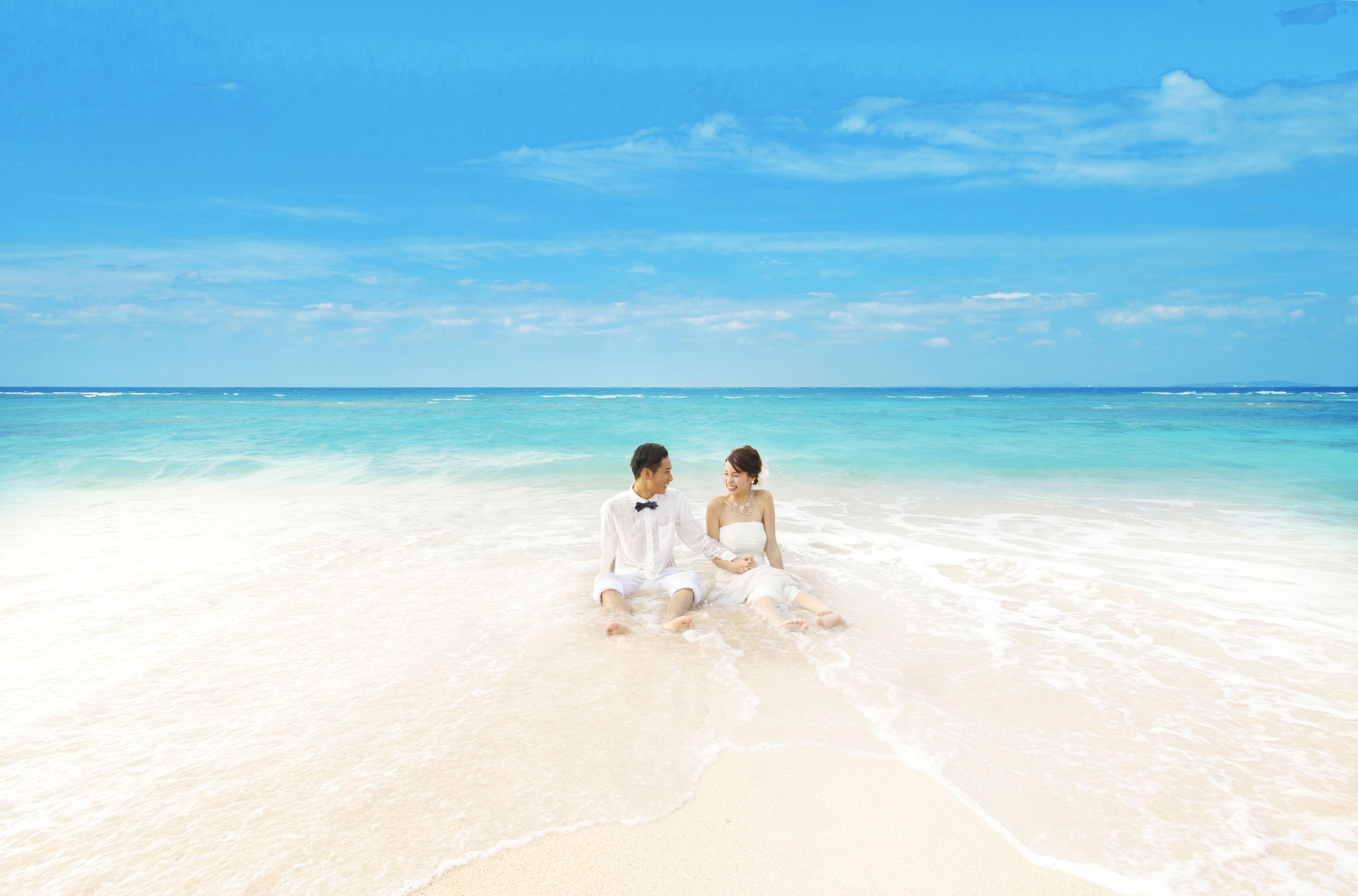 青い海!白いビーチ!