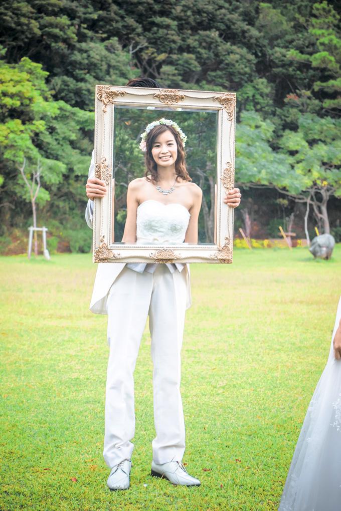 鏡を使った人とは違うユニークショット
