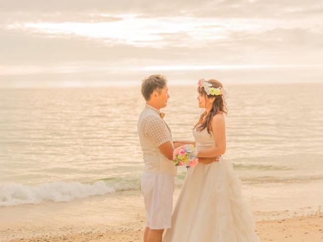 まるで絵画のような結婚写真
