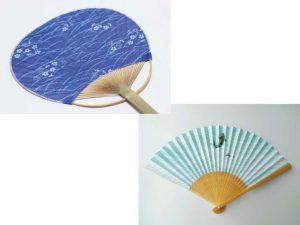 暑さを和らげる団扇や扇子の用意を忘れずに