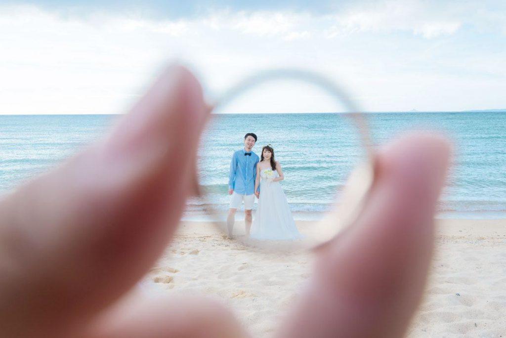 夫婦になった愛の証「結婚指輪」に入っちゃった