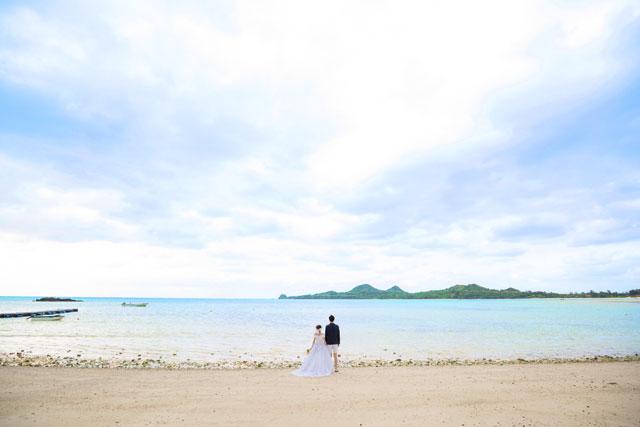 石垣島のフォトウェディングは底地ビーチがおすすめ