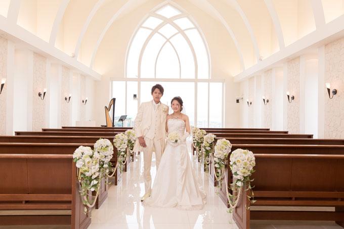 沖縄のチャペルでフォトウェディング!結婚式をしない人にもオススメ