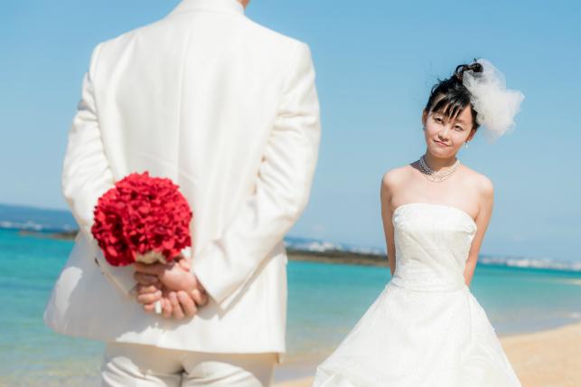 バラの花束(沖縄本島)