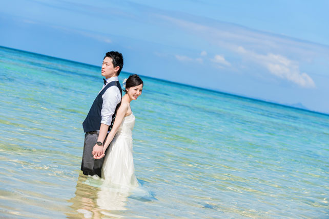 WEB限定ロケーション フォトウェディング・トラッシュザドレス シンプルプラン ~宮古島~