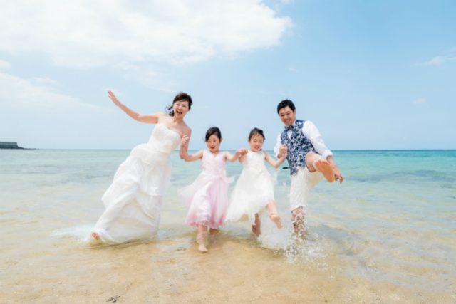 みんなでトラッシュザドレス|沖縄ウェディングオンライン