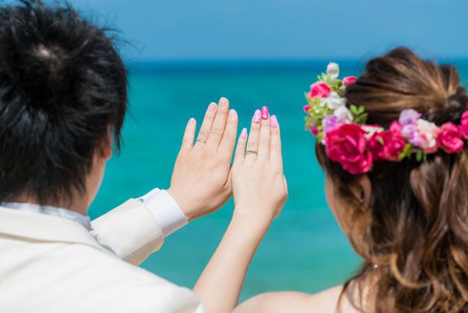 思い出の結婚指輪とフォトウェディング