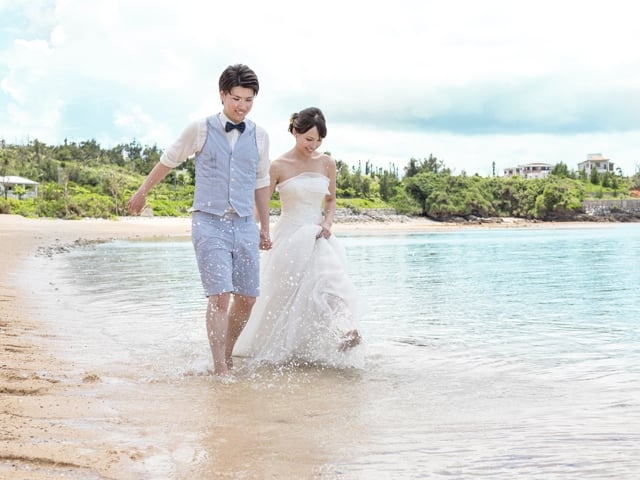 太陽いっぱいのリゾート地沖縄で