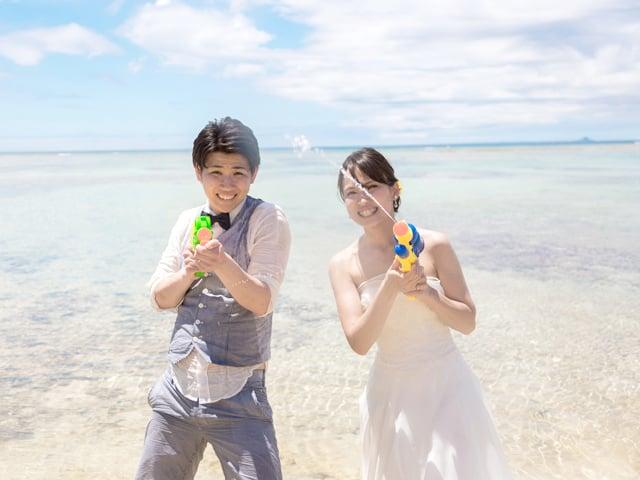 恩納村 安冨祖ビーチ|沖縄ウェディングオンライン