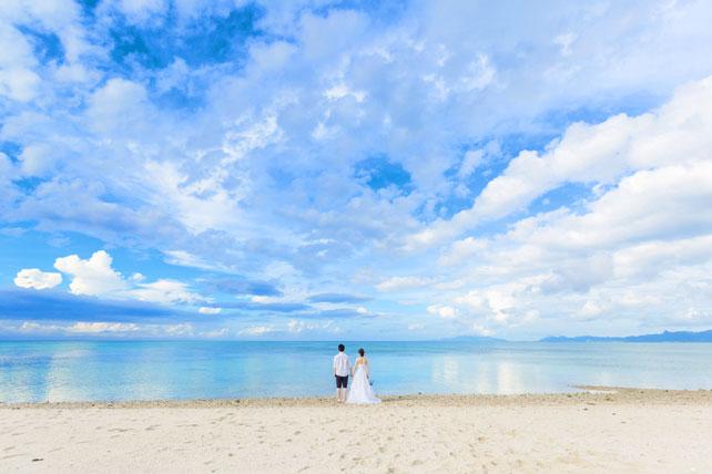 石垣島の海は沖縄本島に比べてすごくキレイ