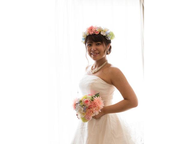 花嫁の美しすぎるソロショット