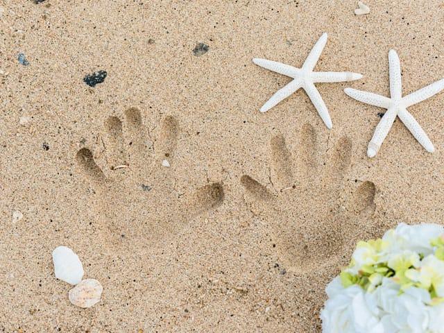 ビーチフォトなら撮っておくべき砂浜ショット