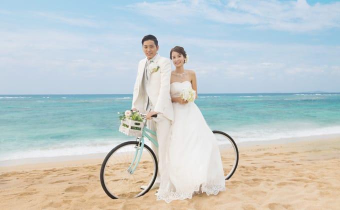 自転車×ウエディング