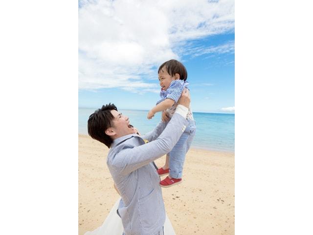 沖縄フォトウェディングなら小さな子どももOK