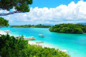 多彩なバリエーションの海が楽しめる石垣島