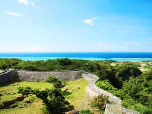 絶景スポット,世界遺産にも登録されている今帰仁城跡