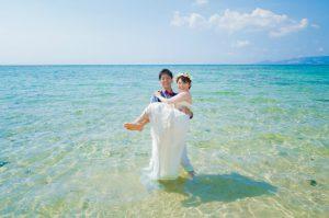 恩納村 WEB限定トラッシュザドレスウェディング シンプルプラン