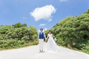 宮古島与那覇前浜ビーチに続くグリーンゾーン