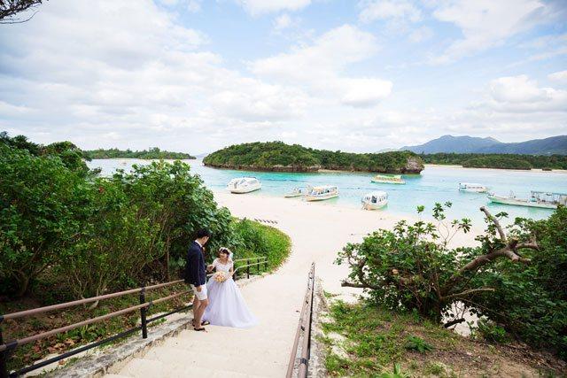 石垣島のフォトウェディングでは外せない観光スポット川平湾