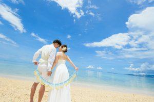 沖縄での前撮り&フォトウェディングイメージ写真
