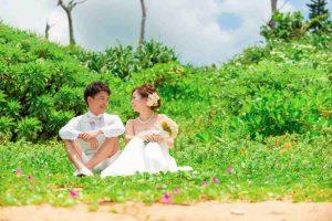 沖縄の恩納村にある安富祖ビーチはネイチャーフォトも撮影可能