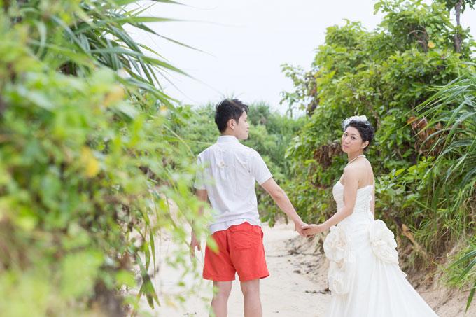 宮古島の与那覇前浜ビーチ周辺でネイチャーフォトも撮影