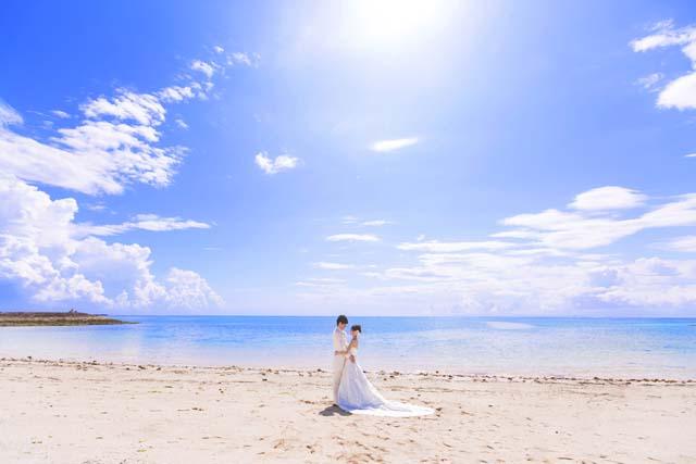 瀬長島ビーチフォト|沖縄ウェディングオンライン