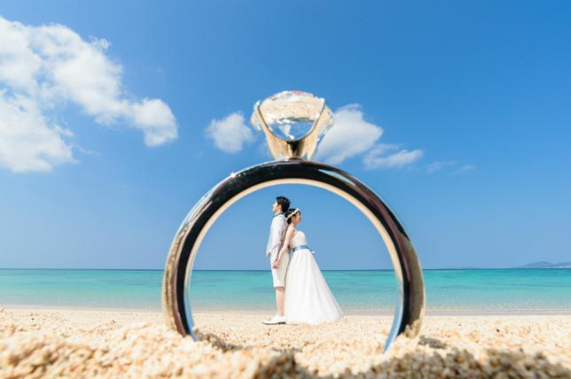 【オンライン予約24時間OK】沖縄で人気のフォトウェディング・前撮りをご紹介!お得なプランを徹底比較