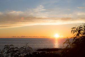 日の入りの時間、宮古島で叶うサンセットフォトウェディング
