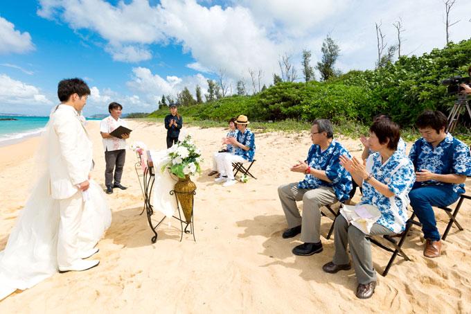 沖縄のビーチウェディング