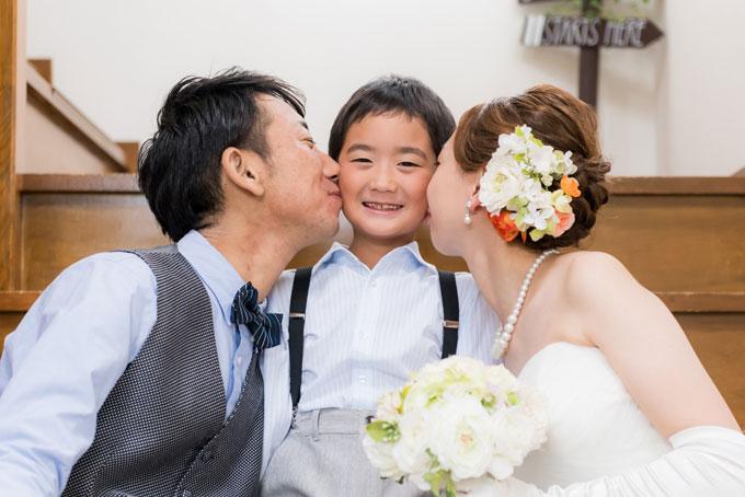 両親からの溢れる愛をフォトウェディングに