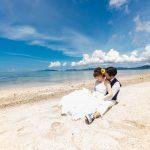 石垣島ビーチフォト 最愛のキス