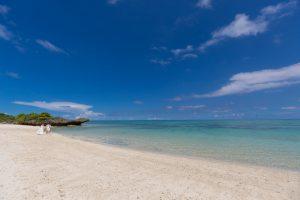 石垣島ビーチ 透明度の高い遠浅の天然ビーチ