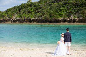 石垣島ビーチフォト 一番の景勝地川平湾で