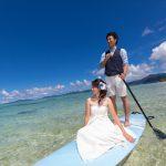 石垣島ビーチフォトウェディング 透明度の高い遠浅のビーチ