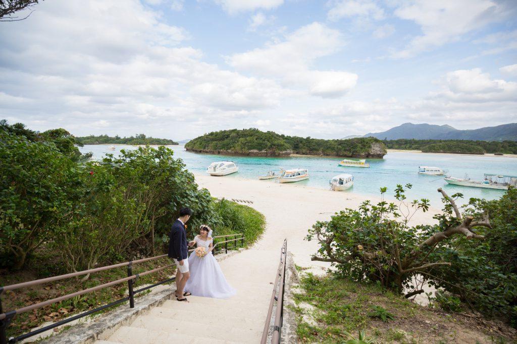 石垣島フォトウェディング 川平湾|沖縄ウェディングオンライン