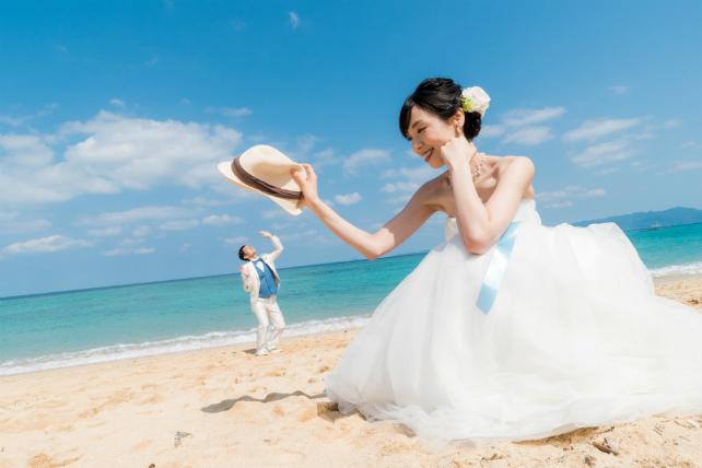 ドレス持ち込み|沖縄ビーチフォト