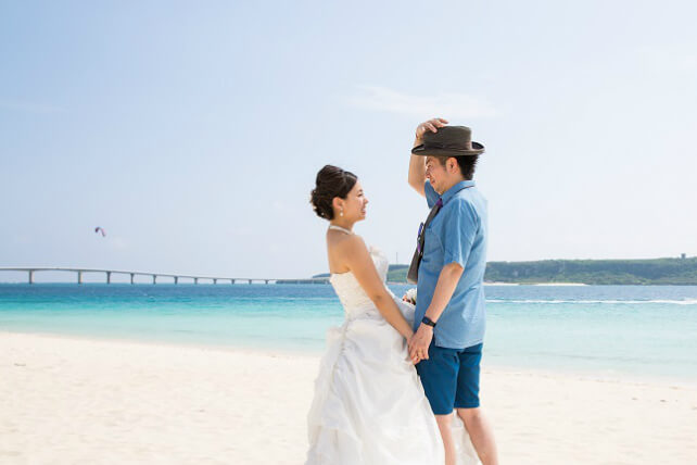 宮古島与那覇前浜ビーチで叶えるフォトウェディング