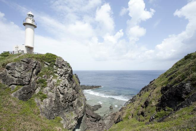 御神崎灯台|石垣島
