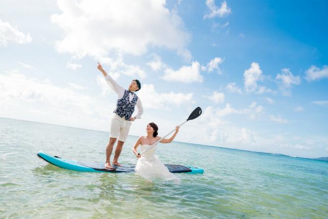 沖縄の海にサップででかけよう!