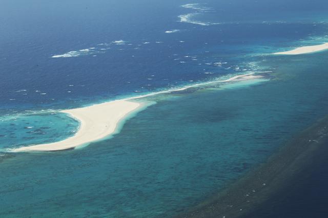 ハテの浜|沖縄・久米島