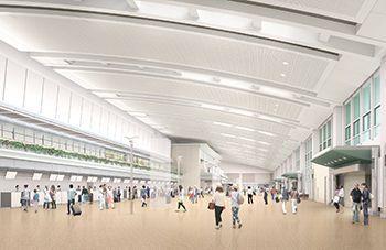 那覇空港LCCも国内線も国際線も便利に!国内線ビルと国際線ビルがつながり、12月18日から一部、19年3月から全面運用