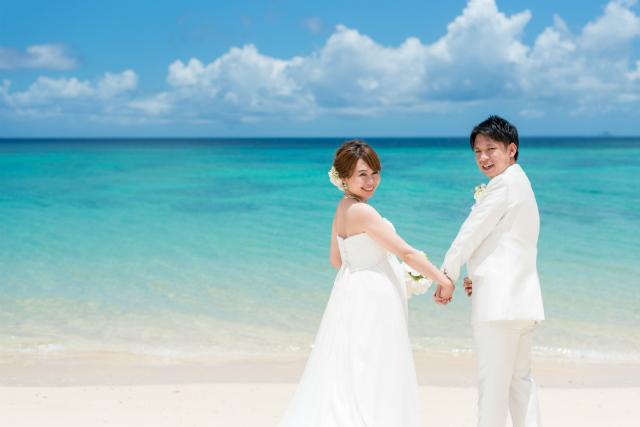 撮影プラン人気ランキング1位沖縄ビーチフォトウェディング