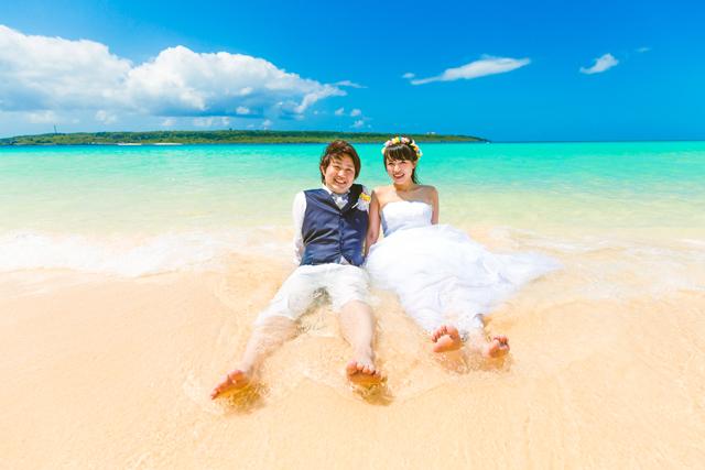 宮古島与那覇前浜ビーチ|沖縄ウェディングオンライン