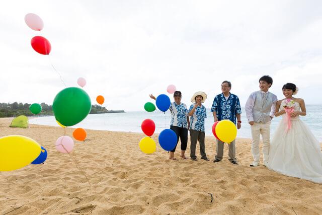沖縄ファミリービーチフォト