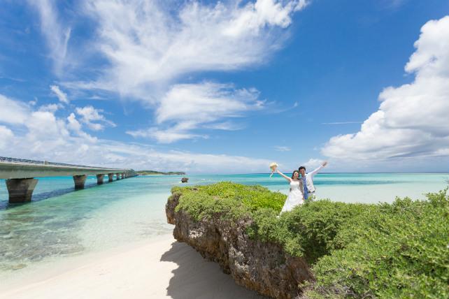 橋の見える絶景スポット 沖縄ウェディングオンライン