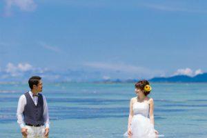 何も足さない。何も引かない。絵になるトラッシュザドレス|沖縄ウェディングオンライン