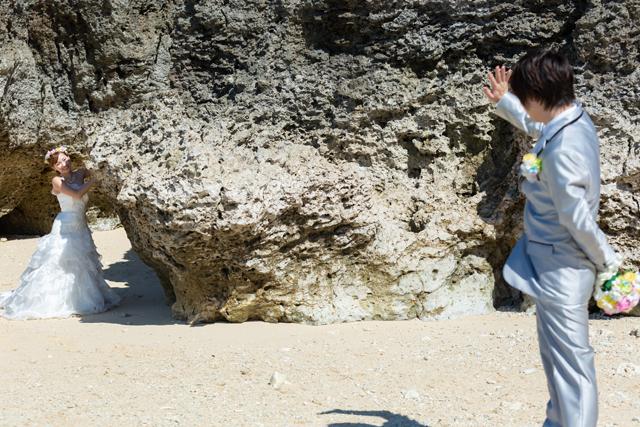 沖縄ビーチフォトと新婚旅行 沖縄ウェディングオンライン