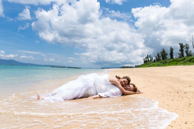 こんなフォトを撮っておいて欲しい♪|トラッシュザドレスウェディング 沖縄ウェディングオンライン